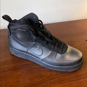 Nike Air Force ones all black